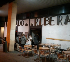 Mercado de la Ribera, Madrid