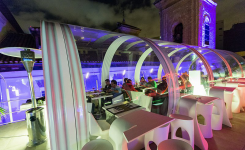 Gymage Lounge Resort, restaurante terraza