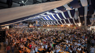 Feria de la Cerveza 2016 fiesta carpa