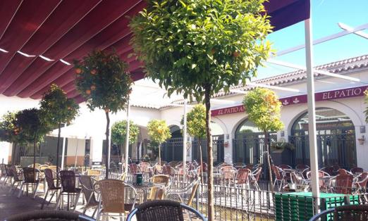 El patio andaluz casa de andaluc a la laguna madrid - Fotos patio andaluz ...