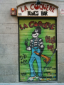 La Coquette Blues Bar, entrada