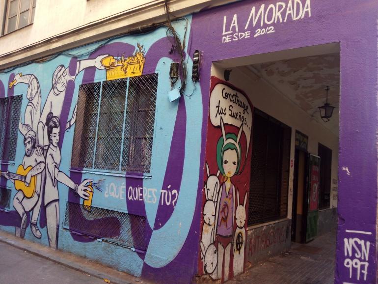 CSOA La Morada   Espacio Liberado en Chamberí. C Casarrubuelos, 5