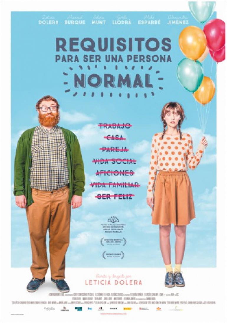 Requisitos para ser una persona normal, película nominada Premios Goya 2016