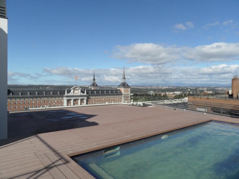 Terraza De Poniente Hotel Exe Monclóa Moncloa Madrid